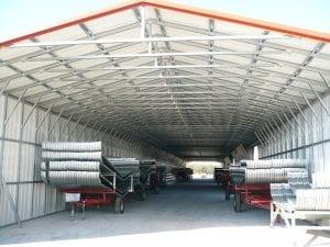 tractor trailer carport